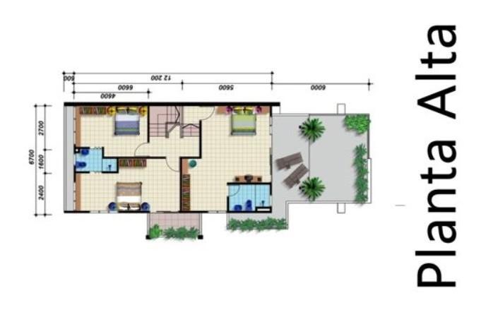 plano con terraza