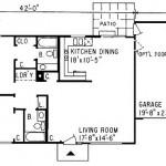 Plano de casas de 2 dormitorios y cochera