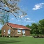 Plano de rancho sencillo