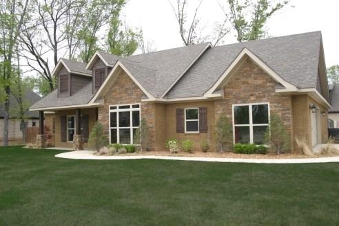 Plano de casas grandes y modernas
