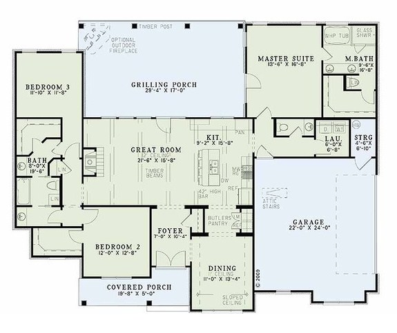 Planos de casas grandes y modernas for Planos arquitectonicos de casas modernas