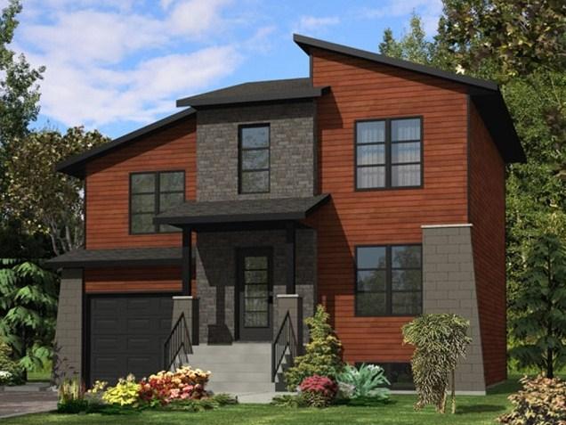 Planos casas de 3 dormitorios planos de casas for Casa moderna 5 dormitorios