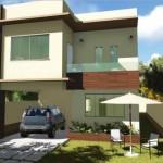 Plano de duplex con jardin frontal