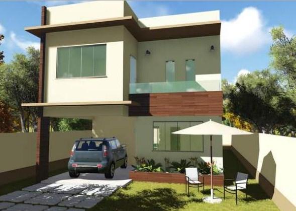 Duplex con jardin frontal