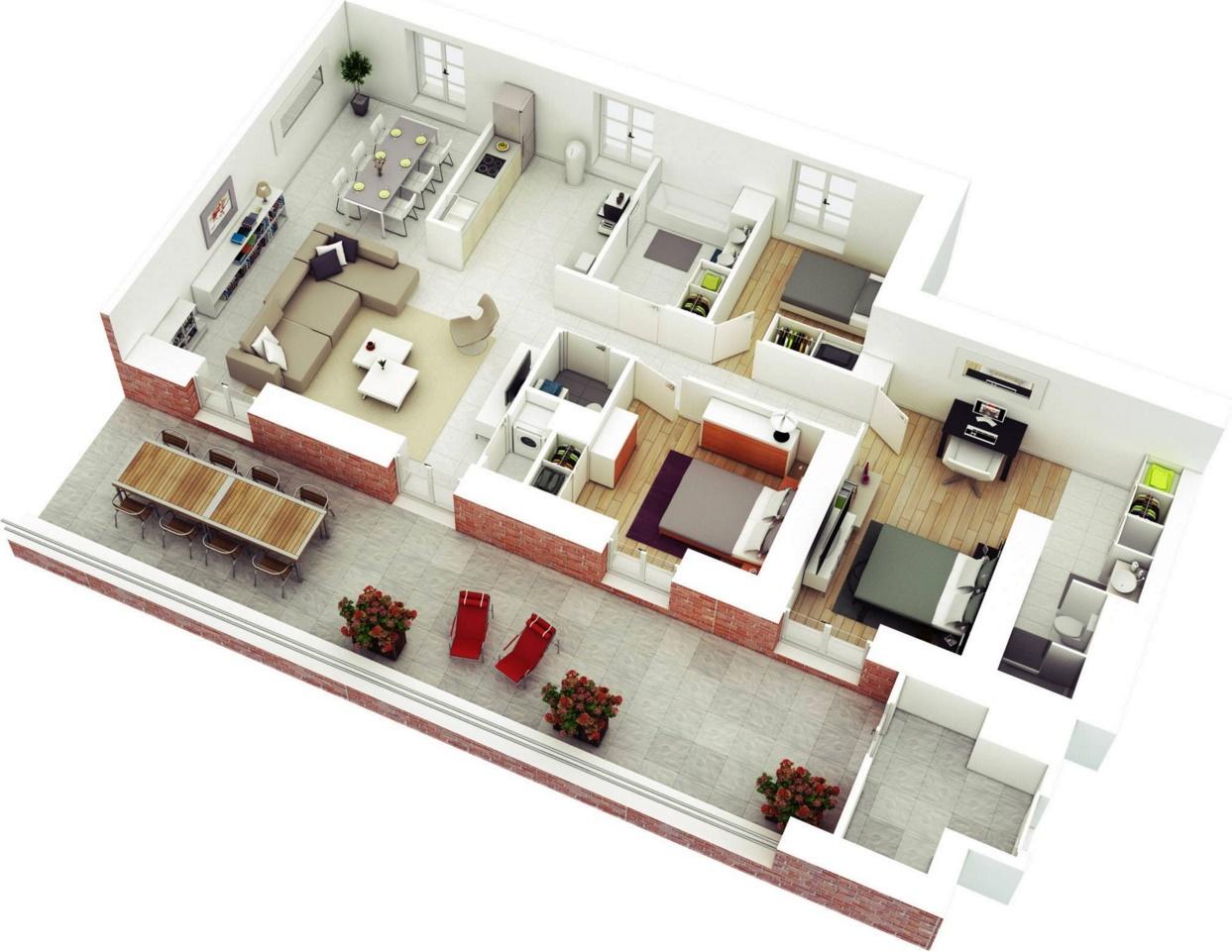 Planos pisos