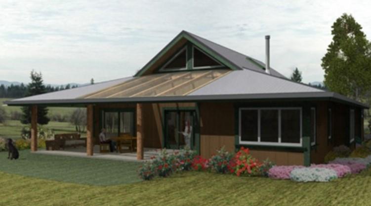 Planos casas de campo for Modelos de casas rusticas