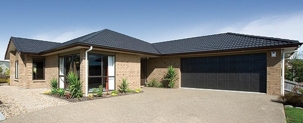 Modelo de casa de ladrillos vistos con 240 metros cuadrados