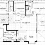 Modelo de casa rústica de 180 metros cuadrados