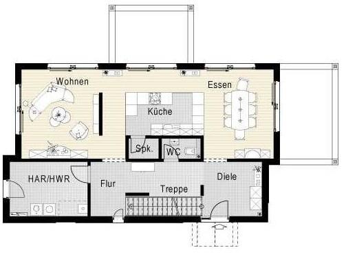Planos de casas de dos plantas