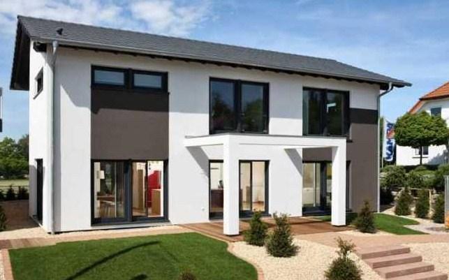 Planos de casas doble entrada for Plano de casa quinta moderna