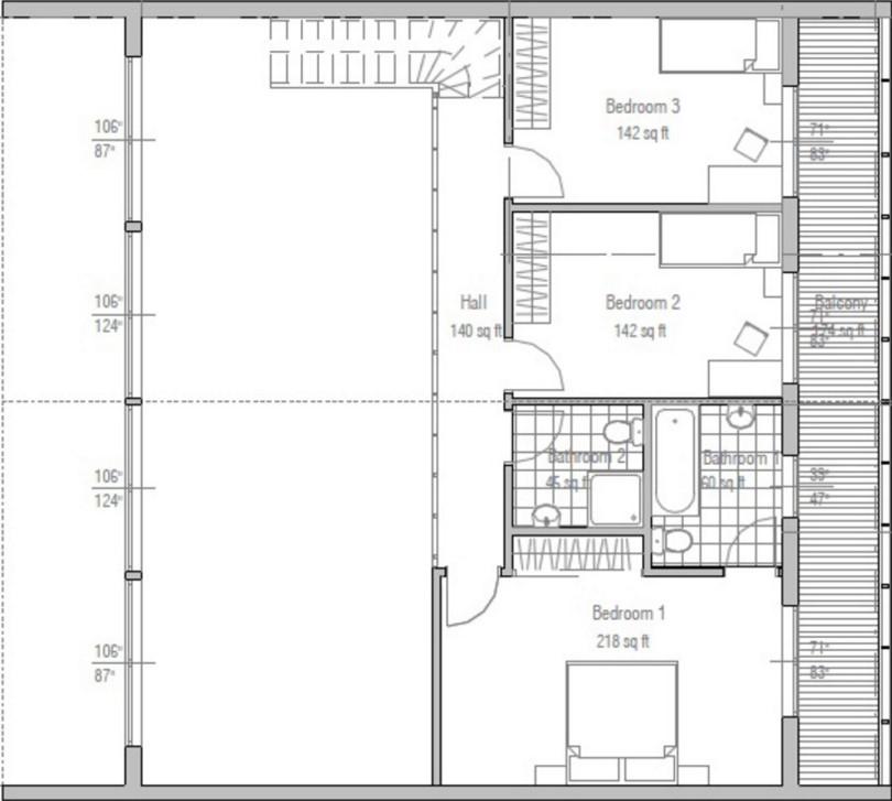 casa con concreto