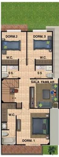Casa de 170 metros cuadrados gratis