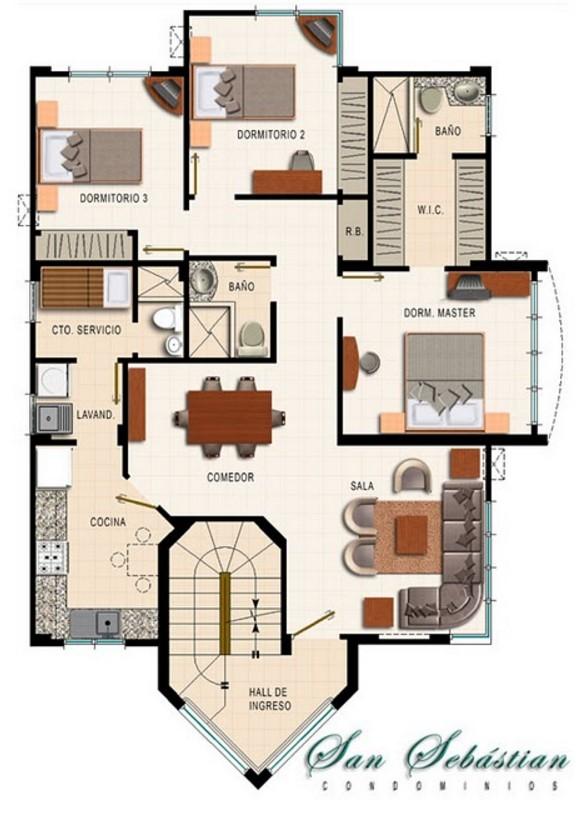 Cuanto cuesta una casa de 170 metros cuadrados - Cuanto cuesta el material para construir una casa ...