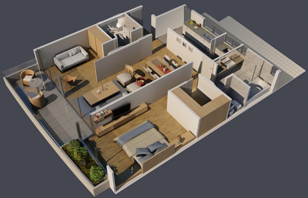 Departamento de 3 ambientes