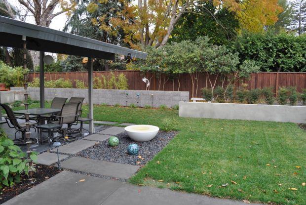 Ideas para decorar jardines modernos con jalerias