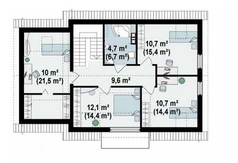 planos de casas 7 x 9