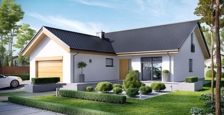 Plano de casa de un piso y tres habitaciones for Casas modernas un nivel