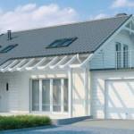 Casa con diseño moderno de 4 dormitorios