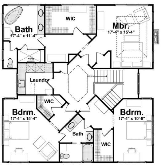 Modelos de casas modernas de 3 dormitorios y 2 pisos