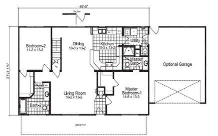 modelos de casas de campo de dos pisos