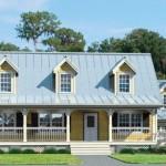 Modelos de casa de campo de dos pisos