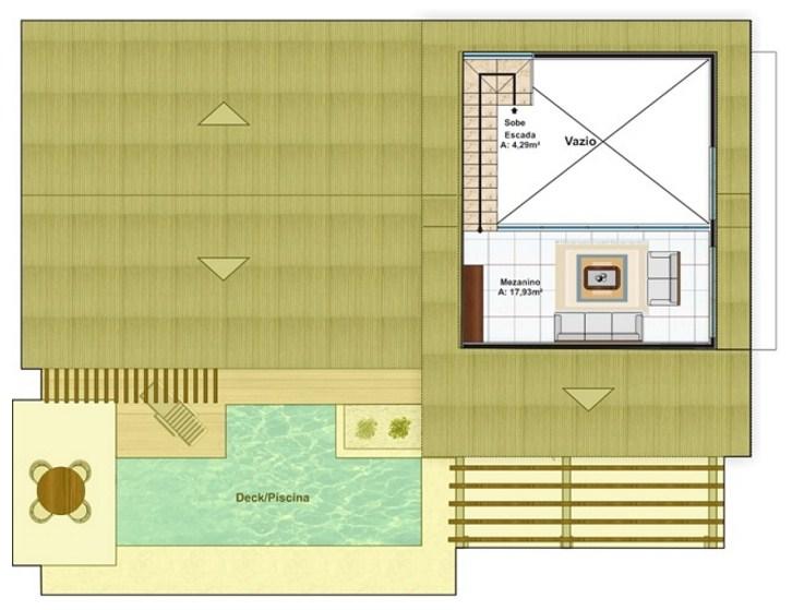 plano de casas de dos pisos sencillas