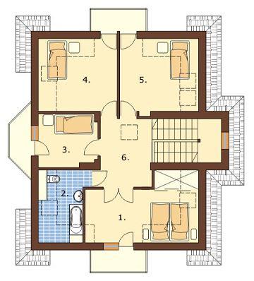 Modelos de casas de 260 metros cuadrados en dos pisos