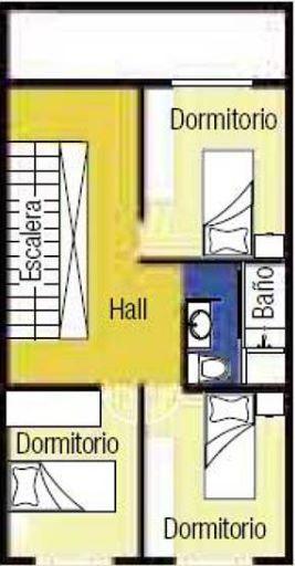 Planos de casas pequeñas de 3 pisos