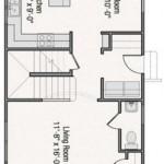 Planos de casas pequeñas de 8×4