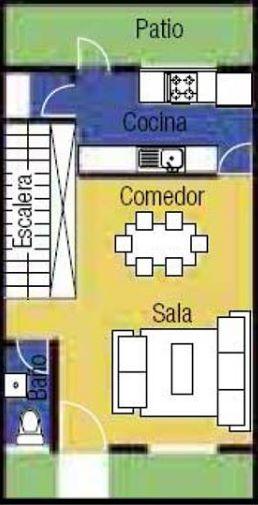 casas pequeñas de 8×4