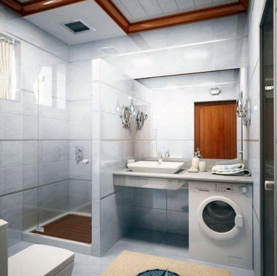 Baños con lavarropas