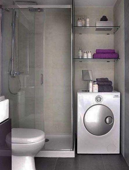 Como colocar un lavarropas dentro del baño