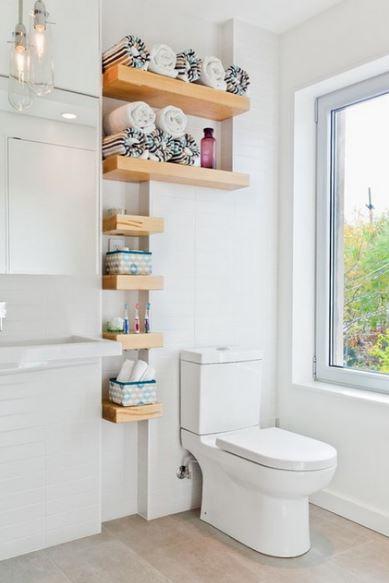 Ideas para baños modernosblancos
