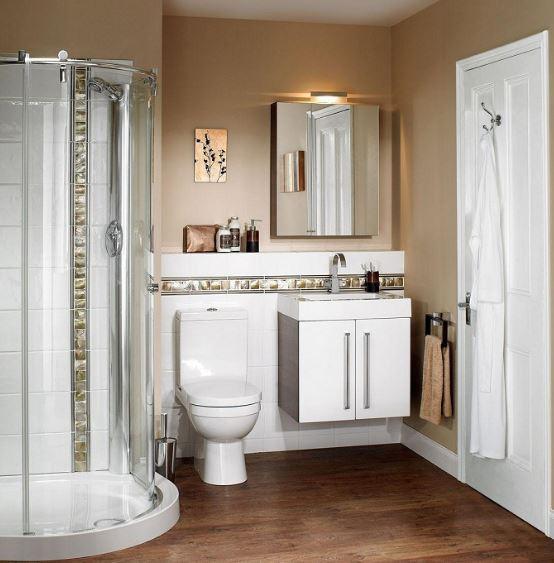 ideas para baos modernos con ducha circular