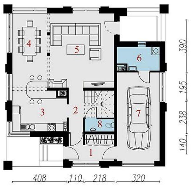 Plano casa clasica