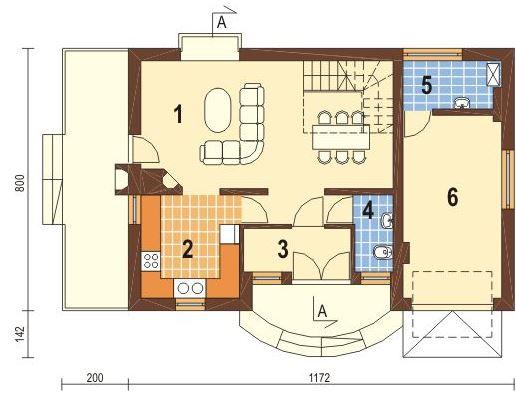 Planos casas de 3 dormitorios planos de casas - Planos de chimeneas de ladrillo ...