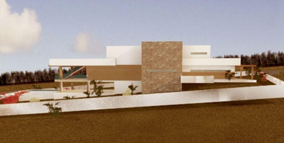 casa pileta  moderna