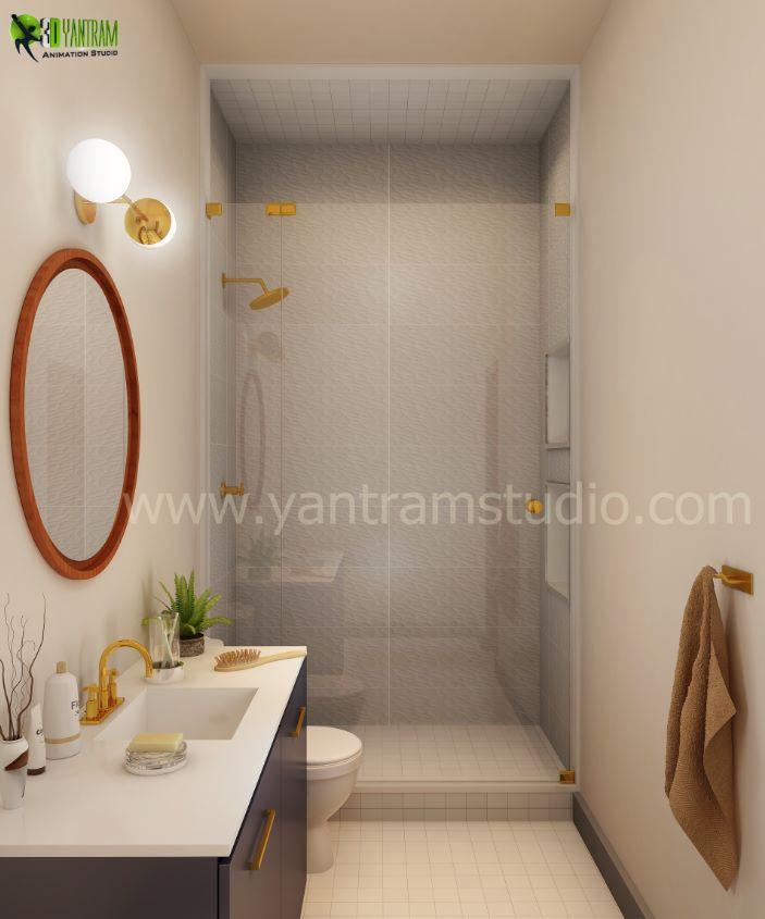 Diseño de interiores toilet