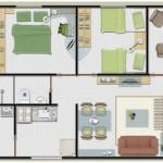 Diseños 42 metros cuadrados