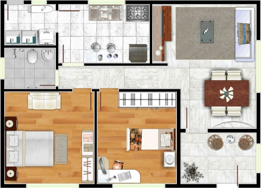 Dise o de casas planos de casas for Planos de viviendas de un piso