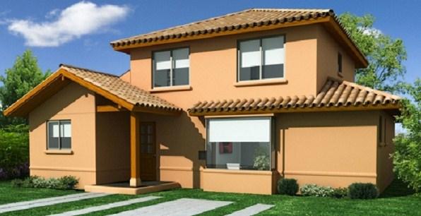 Casas de dos pisos de 100 metros cuadrados