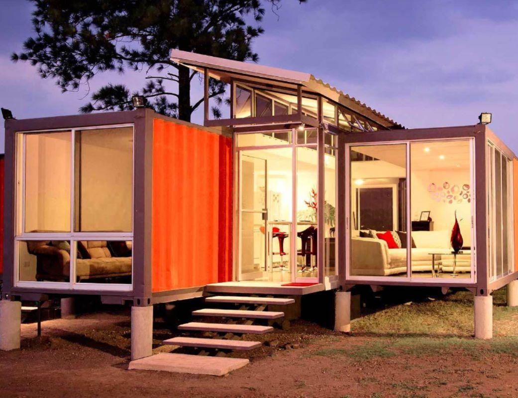 Casas hechas con containers argetnina