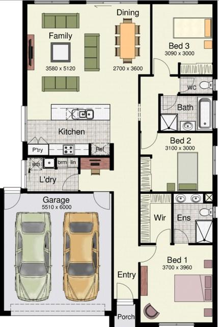 planos de casas modernas 10×20