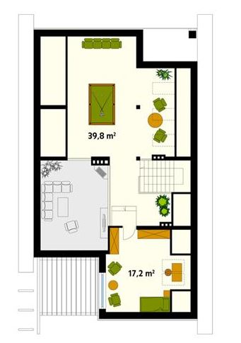 Como aprovechar un terreno de 10 x 20 for Disenos de casas 10x20