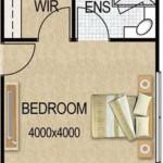 Cuantos metros cuadrados debe tener un dormitorio