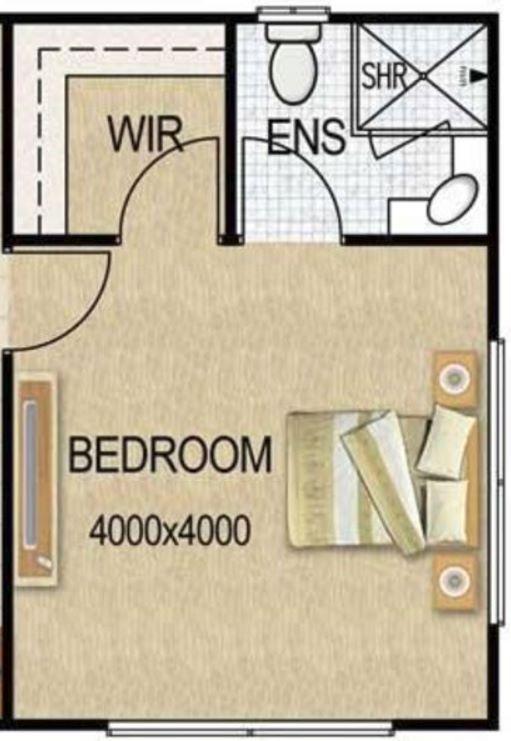 Cuantos metros cuadrados debe tener un dormitorio for Cuanto es un cuarto
