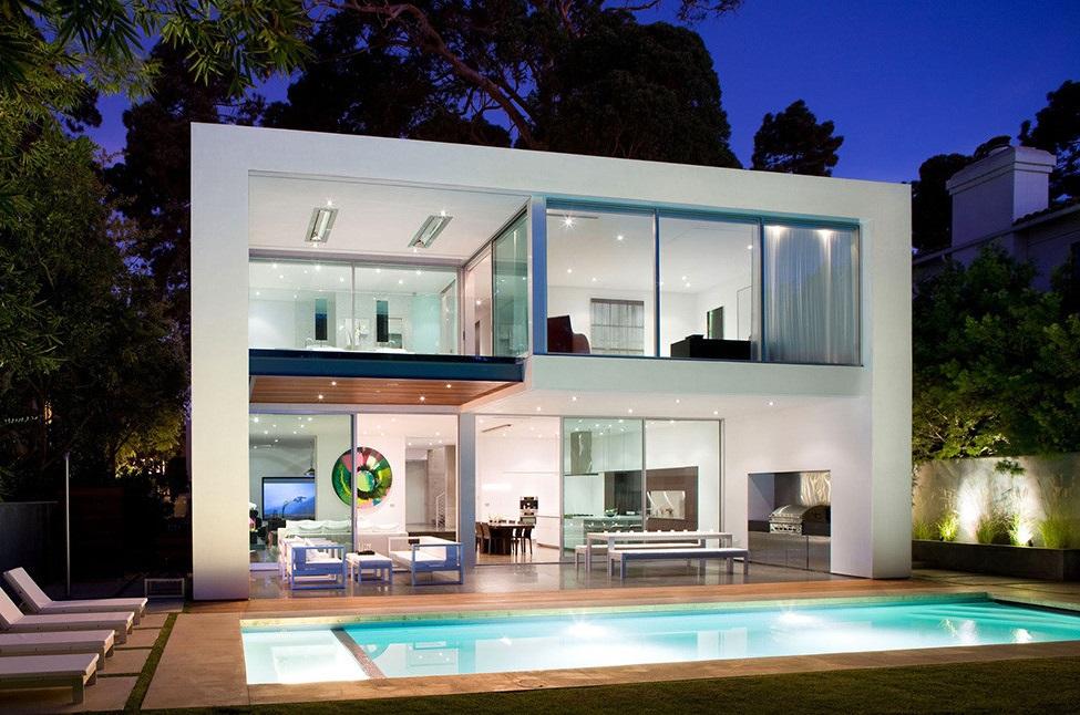 planos de casas modernas de 2 pisos pdf