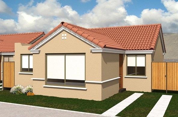 Fachadas de casas bonitas de un piso