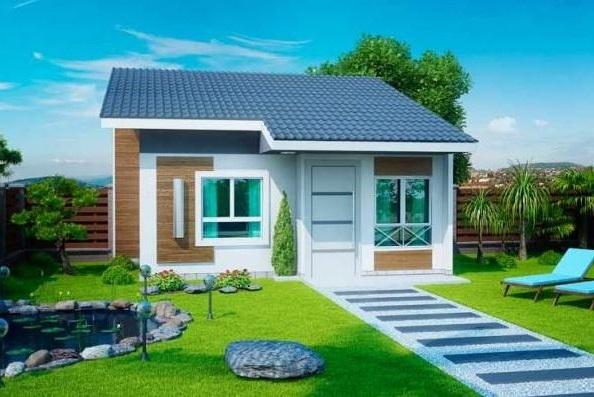 Fachadas modernas de casas pequeñas y bonitas