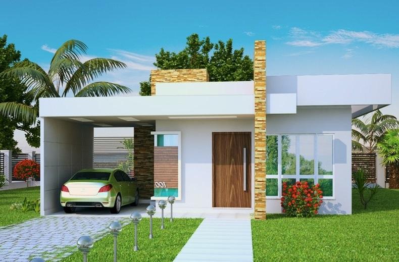 Fotos de fachadas de casas bonitas